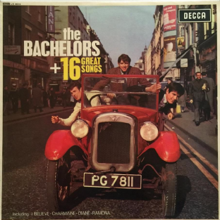 Bachelors (The) - 16 Great Songs (LP) (VG/VG)